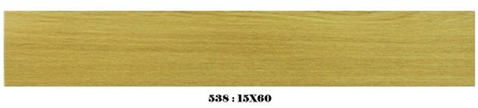 กระเบื้องลายไม้ 15x60 (11ผ/ก) 538